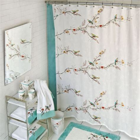 threshold bird shower curtain bird shower curtain