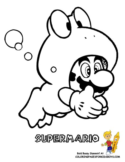 coloring pages for kids boys mario free coloring pages of roy from super mario bros