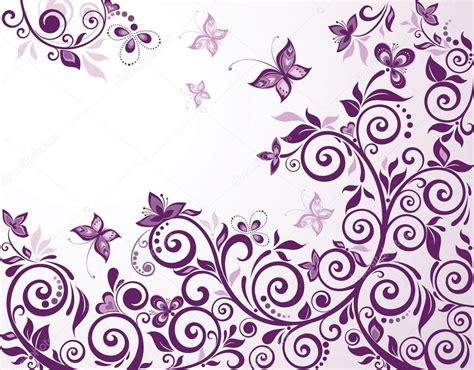 imagenes vintage lila tarjeta violeta flores vintage vector de stock