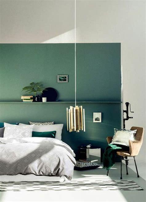 Deco Chambre Verte by En Photos 15 Inspirations Pour Une Chambre Verte Ideo