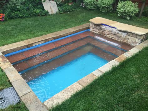 mini pools mini pools water feature contractor denver co
