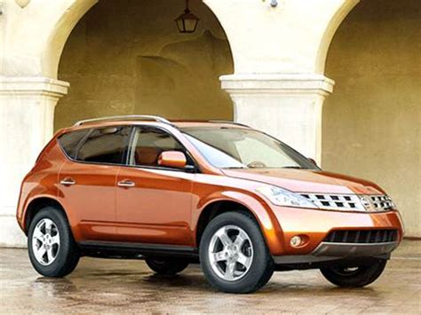 2003 nissan murano pricing ratings reviews kelley blue book