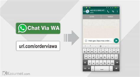 cara membuat link sticker line cara membuat link whatsapp menuju chat langsung kasurnet com