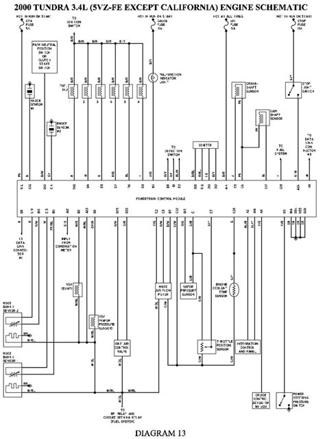 2000 Toyotum Tundra Schematic
