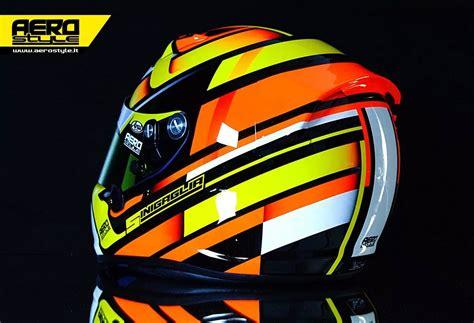 helmet design italy arai sk6 sinigaglia by aerostyle aerografie italy