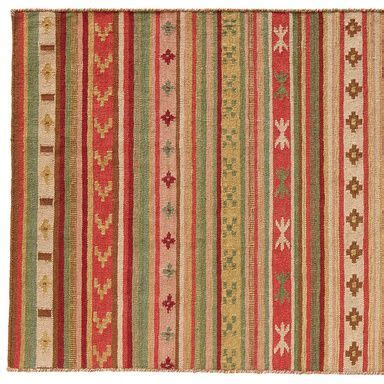 Dhurrie Rugs Definition by Fireside Stripe Dhurrie 8x10 Loom Woven Of Wool And