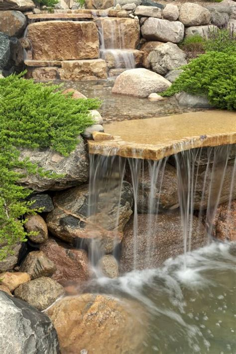 waterfall backyard 50 pictures of backyard garden waterfalls ideas designs