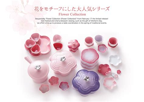 Flower Collection everythinghapa le creuset flower collection
