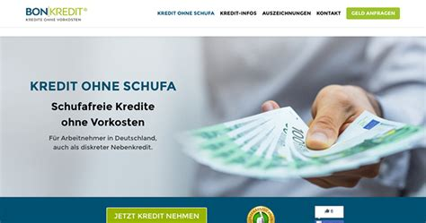 bank kredit ohne schufa sofortkredit ohne bonit 228 t 187 anbieter im test 2018