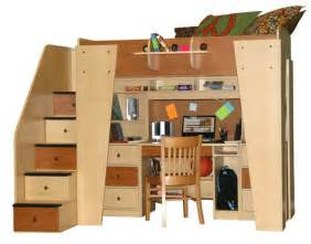 Study Loft Bunk Bed Berg Furniture Kid S Headquarters Loft Bed With Study Area