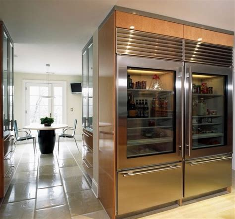 Refrigerator With Glass Front Door Glass Door Refrigerators Designs Ideas Inspiration And Pictures