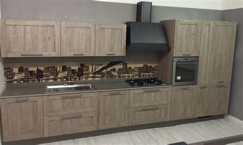 cassanelli mobili cucina lineare stosa vintage modello city completa di