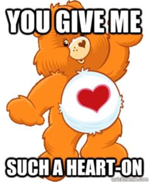 Care Bear Meme - 1000 images about care bear funny art on pinterest care bears bears and deviantart