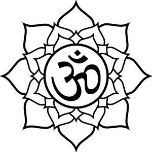 Lotus Flower Om File Lotus Aum Svg Wikimedia Commons