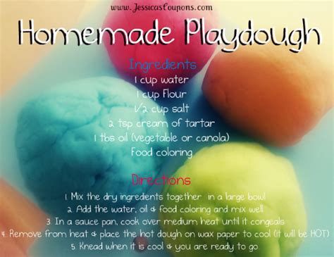 Cheap Home Decor Store by Homemade Playdough Recipe