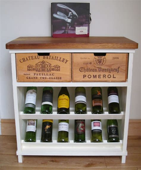 white wine rack wine rack white finish bois rustique