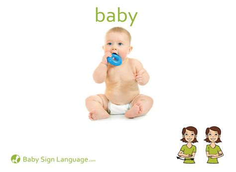 Baby Signs A Baby Speaking With Sign Language Board Book baby