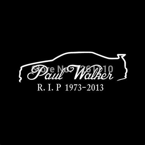 Paul Walker Spruch Aufkleber by ღ ღpaul Walker Skyline R34 ᗖ Memorial Memorial Rip