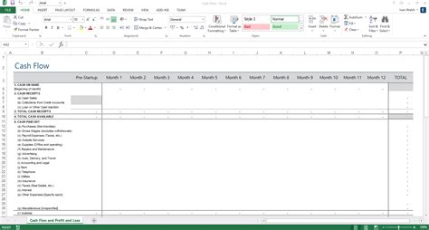 Business Plan Templates 40 Page Ms Word 10 Free Excel Spreadsheets Business Plan Spreadsheet Template Excel