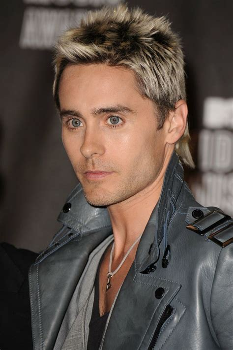 frosted tips of hair join us in obsessing over jared leto s amazing hair