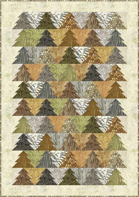 tree pattern pinterest tessellating trees woodland trees quilt pattern by patti