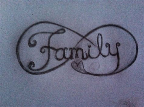 infinity family tattoo designs infinity family design tattoos