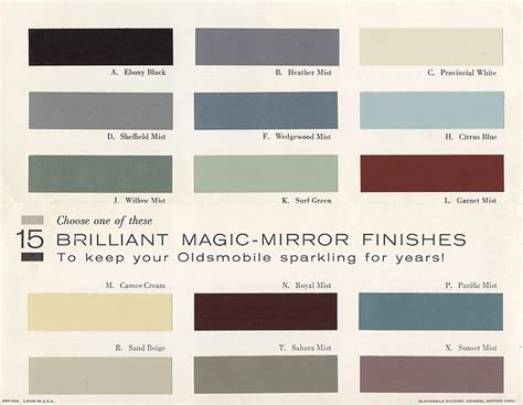 28 automotive paint color choices sportprojections