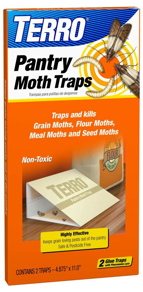 Pantry Moth Pheromone Traps by Terro T2900 Box Of 2 Non Toxic Pantry Moth Pest Insect