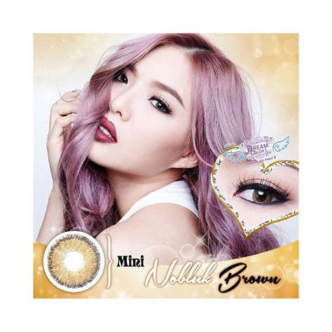 Dreamcolor1 Rock Choco Minus 1 50 restock 12 06 nobluk mini nobluk dan softlens