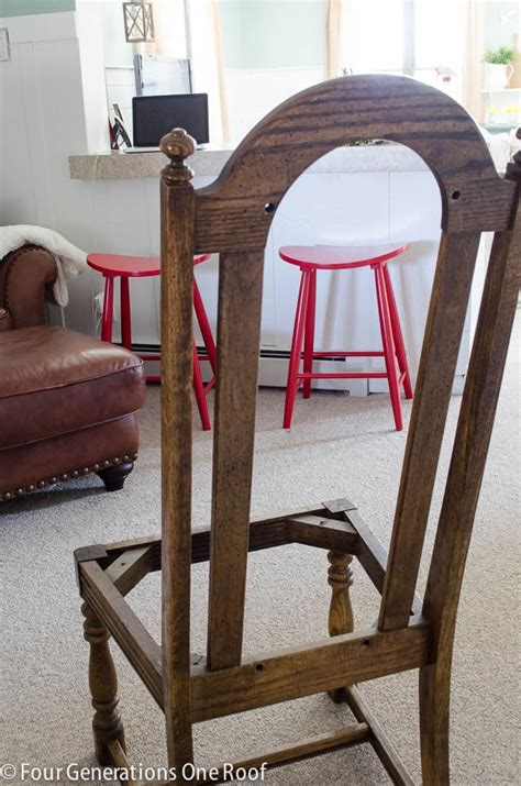 How To Recover A Dining Room Chair by Easy Diy Reupholstering Tips And Tricks Four Generations