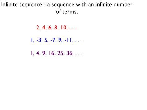 pattern sequence definition recursively defined sequences