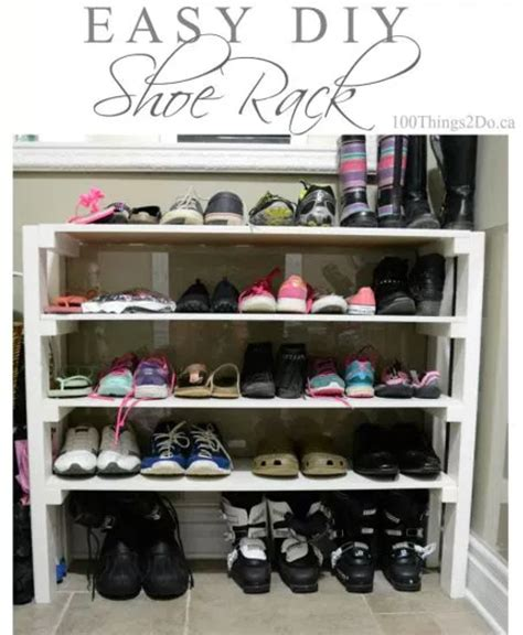 shoe storage ideas diy home sweet home 8 genius shoe storage ideas