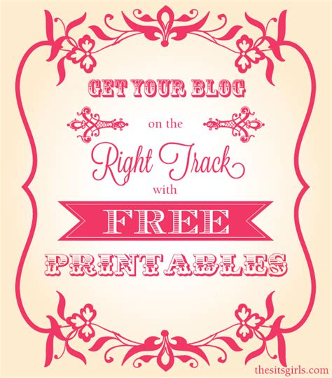 free printable free blogging printables 10 free downloads all