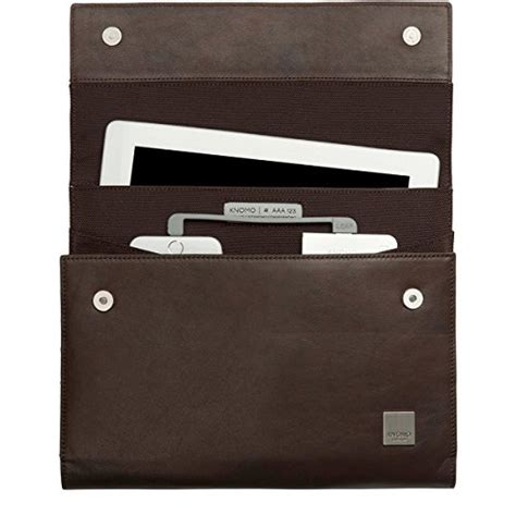 Knomo Knomad Portable For Air 10 Inch 57 064 knomo knomad air premium leather portable organiser for 10
