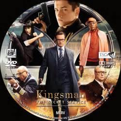 kingsman the secret service dvd cover label 2014 r0