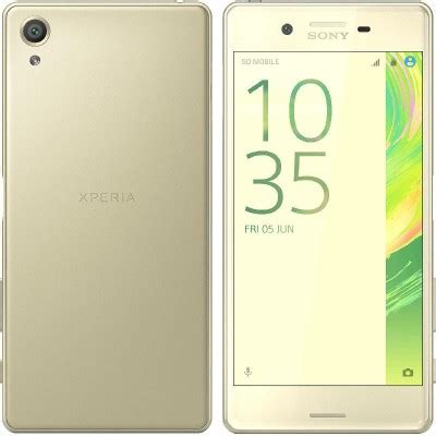 sony xperia x (dual), 64 gb, lime gold, 4g lte all