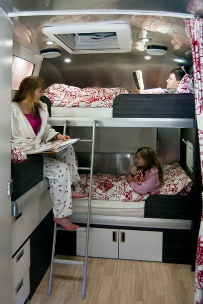 travel bunk beds small house rv cing gling on pinterest