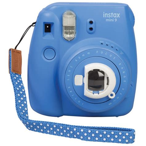 Fujifilm Kamera Instax Mini 9 Blue fujifilm instax mini 9 instant cobalt blue
