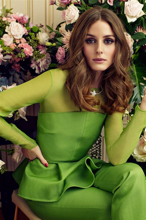 marie claire hair long styles olivia palermo olivia palermo snapped olivia in green monotone