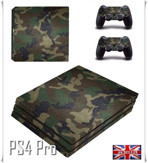 Skin Playstation 4 Ps4 Camo Camouflage 01 ps4 pro camouflage camo army skin sticker decal wrap console controller vinyl ebay