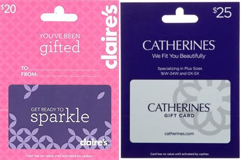 Claire Gift Card - amazon gift card lightning deals claire s catherines jungle deals blog