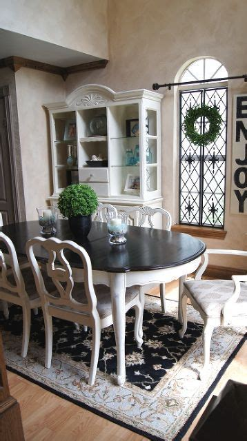 black painted dining table dining room table makeover in 2018 madisyn