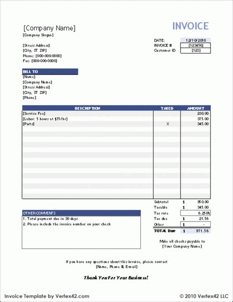 38 Invoice Templates Psd Docx Indd Free Download Psdtemplatesblog Microsoft Excel Invoice Templates