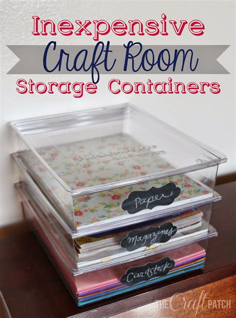 craft ideas for inexpensive the craft patch inexpensive craft room storage