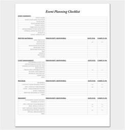 event management checklist template event to do list template 40 checklists in word excel