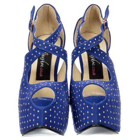 onlineshoe strappy studded stiletto platform high heel