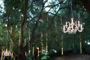 outdoor wedding chandelier outdoor wedding at winery in malibu sparkling