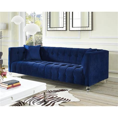 blue velvet sofa bea blue velvet sofa tov s85