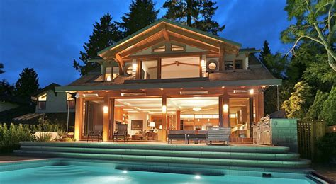 Waterfront Home in West Vancouver