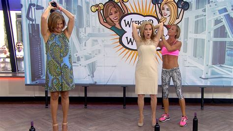 kathie lee gifford exercise video tone your triceps with a wine bottle workout today